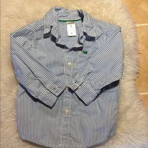 Button down baby boy shirt from Carters